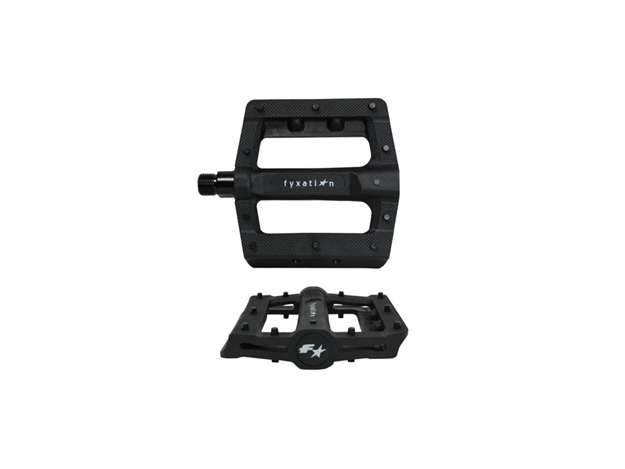 Picture of Fyxation Gates Slim Pedals - Black