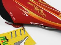 Picture of Selle Italia X Pinarello Flite Saddle - Red