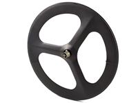 Picture of Carbon Tri Spoke Rear Wheel - Black MSW