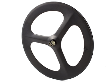 Picture of Carbon Tri Spoke Rear Wheel - Black MSW