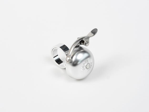 Crane Mini Suzu Stem Bell - Silver