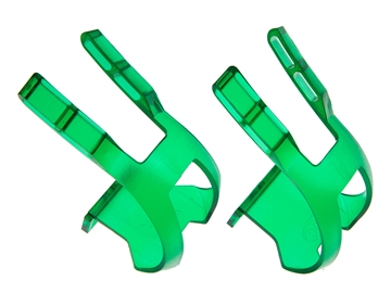Picture of BLB Plastic DB/DG Toe Clips - CP Green