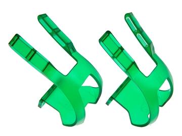 BLB Plastic DB/DG Toe Clips - CP Green