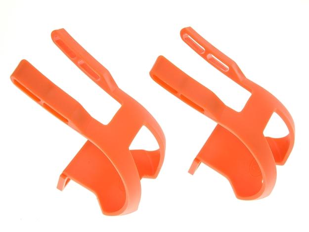 BLB Plastic DB/DG Toe Clips - Orange