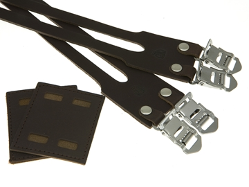 Picture of BLB Double Leather Straps - Dark Brown