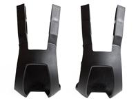 BLB Plastic DB/DG Toe Clips - Black