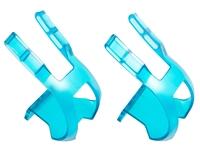 BLB Plastic DB/DG Toe Clips - CP Blue
