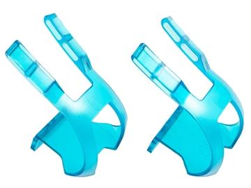 Picture of BLB Plastic DB/DG Toe Clips - CP Blue