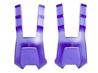 BLB Plastic DB/DG Toe Clips - CP Purple