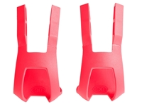 BLB Plastic DB/DG Toe Clips - Pink