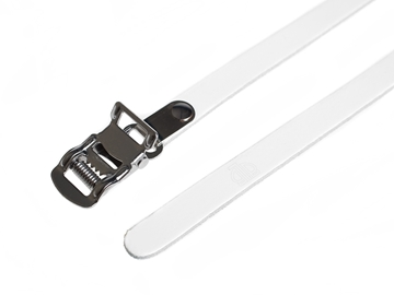 Picture of BLB Single Leather Straps - White