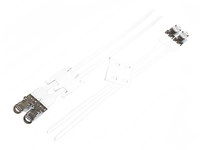 BLB Double Freestyle Straps - White