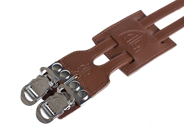 BLB Double Freestyle Straps - Brown