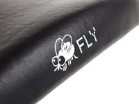 BLB Fly Saddle - Black logo