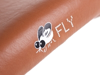 Picture of BLB Fly Saddle - Brown