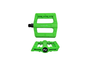 Picture of Fyxation Gates Slim Pedals - Green