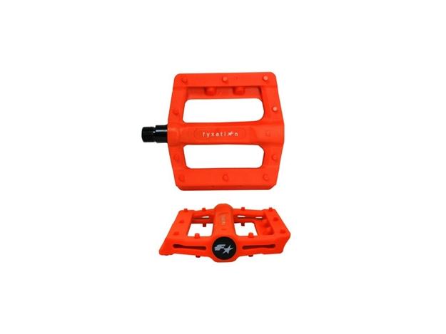 Fyxation Gates Slim Pedals - Orange