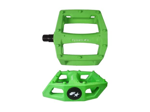 Fyxation Gates Pedals - Green