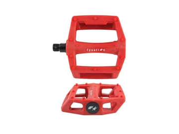 Picture of Fyxation Gates Pedals - Red