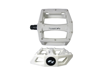 Picture of Fyxation Gates Pedals - White