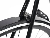 BLB Classic Alloy Rear Fender Matt Black