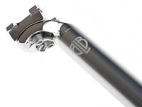 BLB Track OS Seat Post - Silver