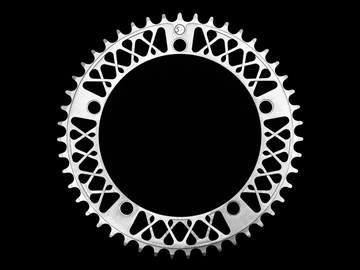 Picture of Factory 5 Lattice Chainring - Silver