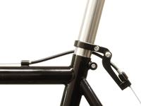 Paul Components Funky Monkey Rear - Black on bike