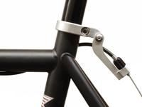 Paul Components Funky Monkey Rear - Silver on bike