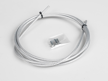 Picture of BLB Brake Cable Outer Housing - Carbon Silver