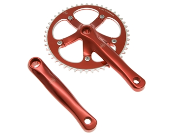 Picture of BLB Track Crankset - Red