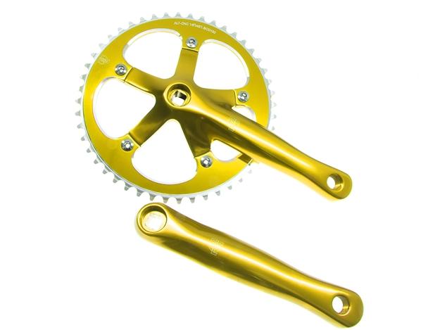 Picture of BLB Track Crankset - Gold
