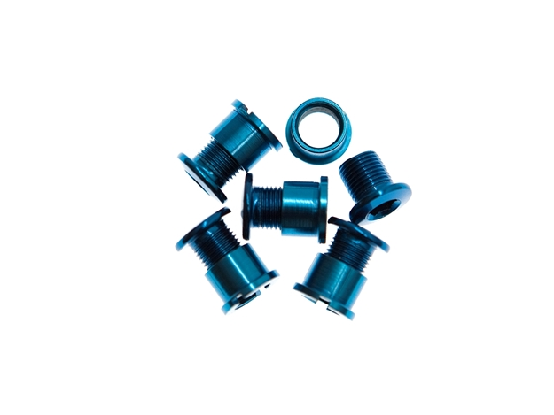 Picture of BLB Single Chainring Bolts - Blue