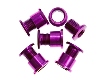 Picture of BLB Single Chainring Bolts - Purple