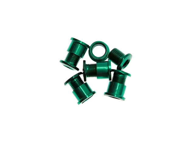 BLB Single Chainring Bolts - Green