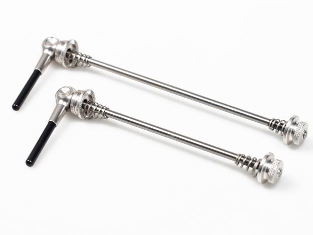 VIA Titanium QR Axle - Silver