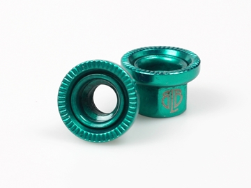 Picture of BLB Steel Track Nuts - Green
