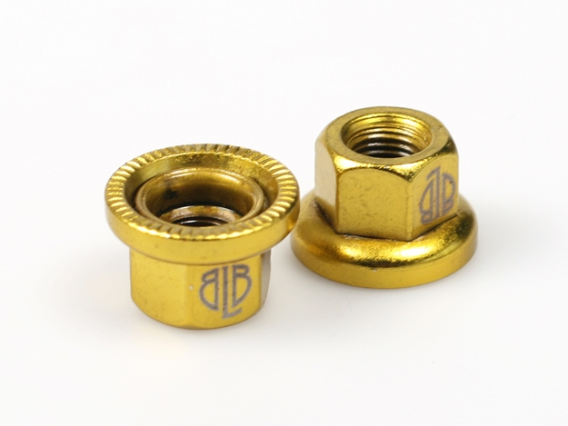 Picture of BLB Steel Track Nuts - Gold
