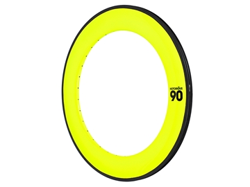 BLB Notorious 90 Rim - 700c - Fluorescent Yellow