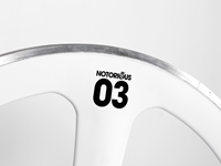 Picture of BLB Notorious 03 Carbon/Alloy Front Wheel - White