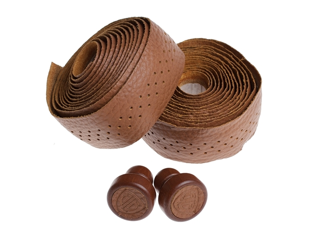 Picture of BLB Leather Bar Tape - Honey Brown