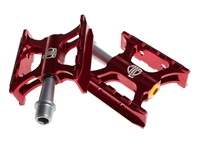 BLB Track Pedals - Red