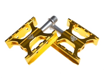 Picture of BLB Track Pedals - Gold