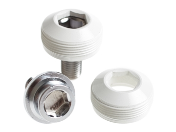 Picture of BLB Alloy Cup Crank Bolts - White
