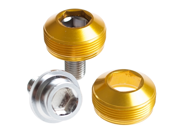 Picture of BLB Alloy Cup Crank Bolts - Gold