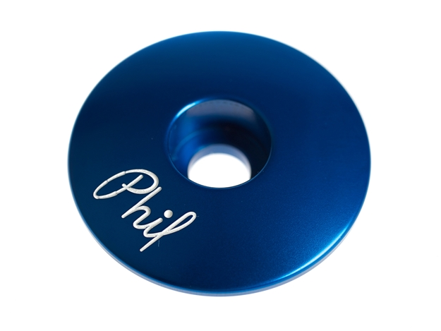 Picture of Phil Wood Top Cap - Blue