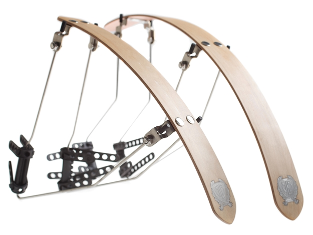Picture of BLB Wooden Race Fenders - Maple