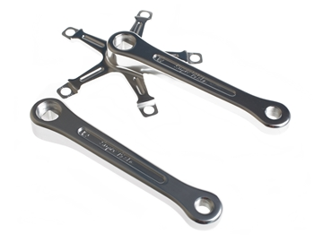 Picture of BLB Super Pista Crank Arms - Silver