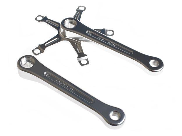 Picture of BLB Super Pista Crank Arms - Silver