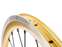 Picture of Shroom Deep Section Wheel Set - Gold/Black